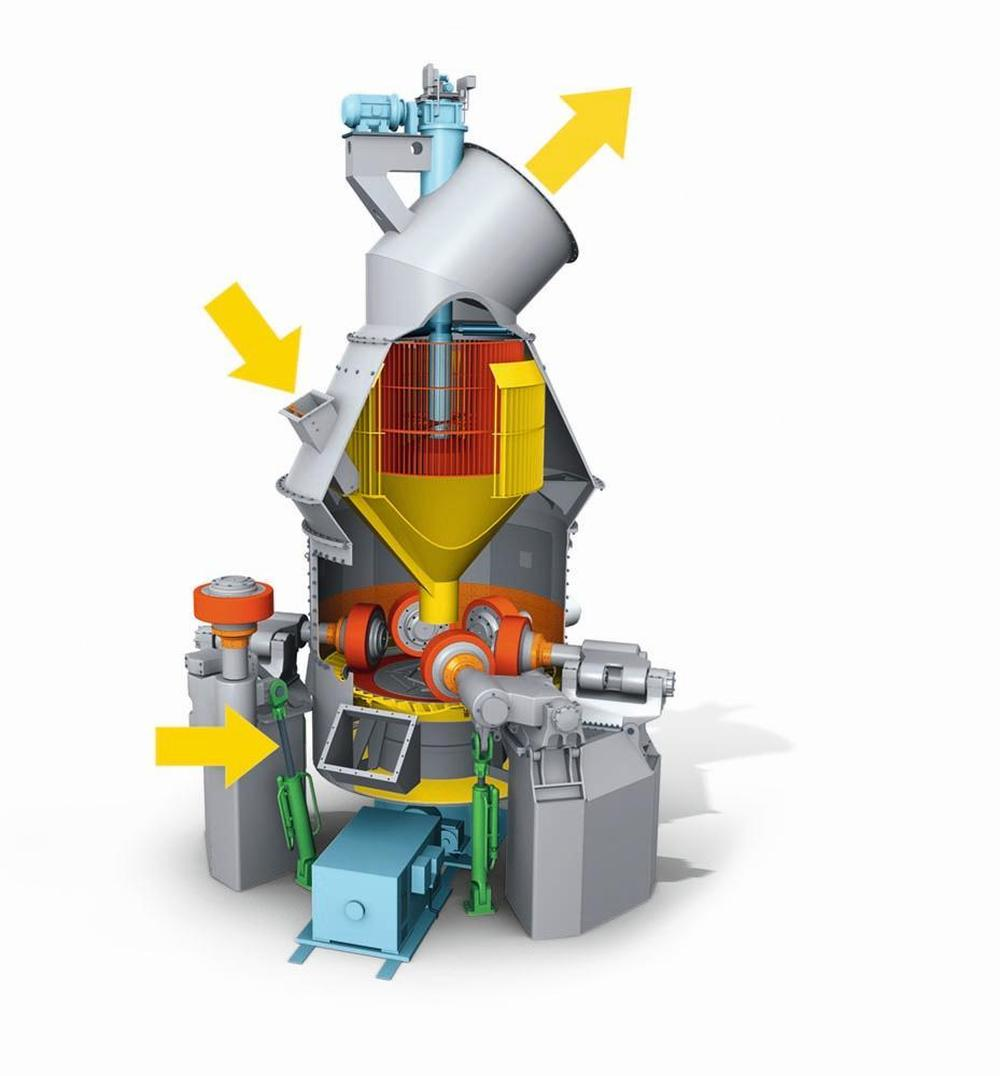 Cement mills and raw mills for small to medium throughput rates